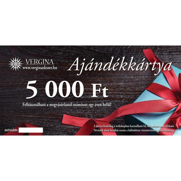 Ajándékkártya 5.000 Ft