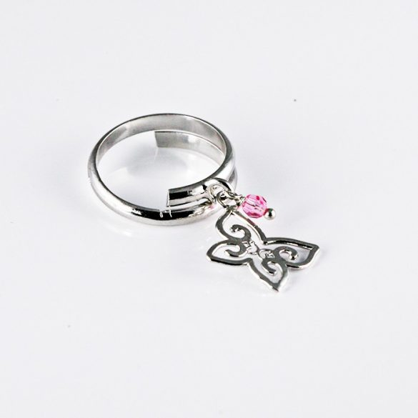 Pillangó Ezüst Gyűrű