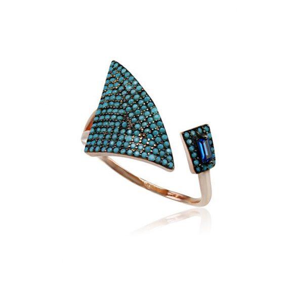 Ezüst Mosaic Gyűrű
