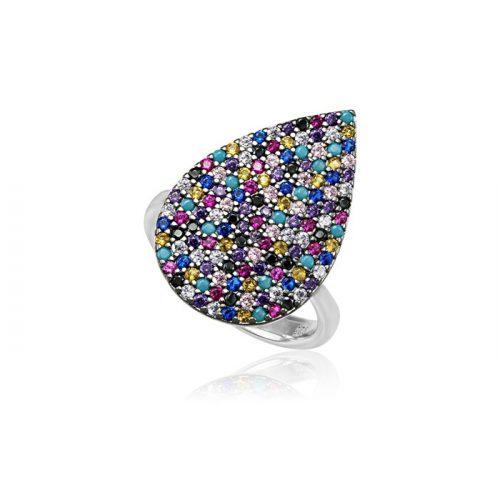 Ezüst Mosaic Gyűrű VE1354
