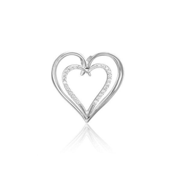 Ezüst Periklis Szív Medál