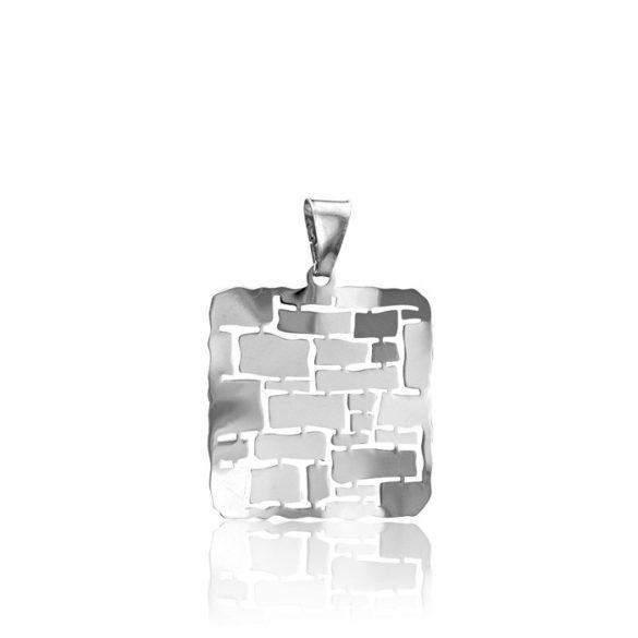 Ezüst Toscana Medál—négyzet, ezüst