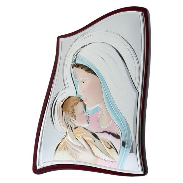 Mária a Kisjézussal ikon PVD bevonattal