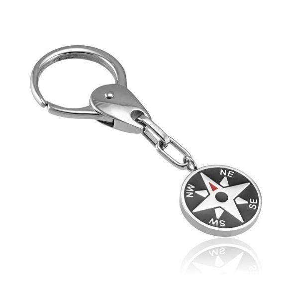 Nemesacél kulcstartó VE012