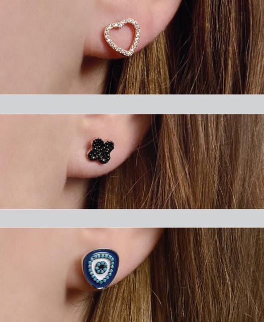 Apró fülbevalók